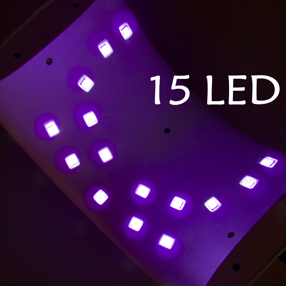 2018 hot sale White SUN9C UV LED Nail Lamp 24W Professional UV LED Lamp Nail Dryer Machine for Curing Nail Gel Art Tool