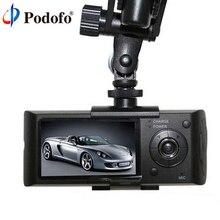 Dual Lens Car DVR X3000 R300 Dual G-Sensor Camcorder 140 Degree 2.7inch dash cam Car DVRs Video Recorder with GPS logger hot