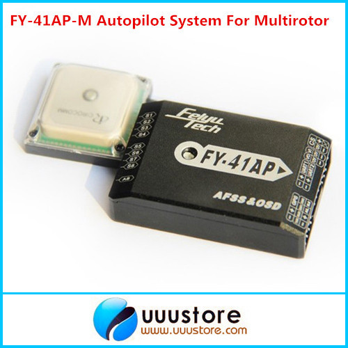FY-41AP-M Flight Stabilization System FPV GPS OSD AUTOPILOT For Quadcopter Integrate With OSD Module fpv s2 osd barometer version osd board read naza data phantom 2 iosd osd barometer with 8m gps module