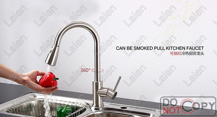 Superfaucet Brushed Kitchen Faucet Shower Pull Out Kitchen Faucet Water Tap Kitchen Water Tap Kitchen Pull
