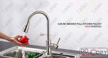 Superfaucet Щеткой Кухонный Кран Душ, Вытащить Кухонный Кран, Кран Кухни, Кран Кухня Pull Down кран HG-1218DC