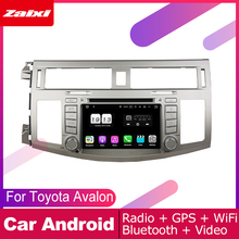 цена на ZaiXi android car dvd gps multimedia player For Toyota Avalon 2008~2010 car dvd navigation radio video audio player Navi Map