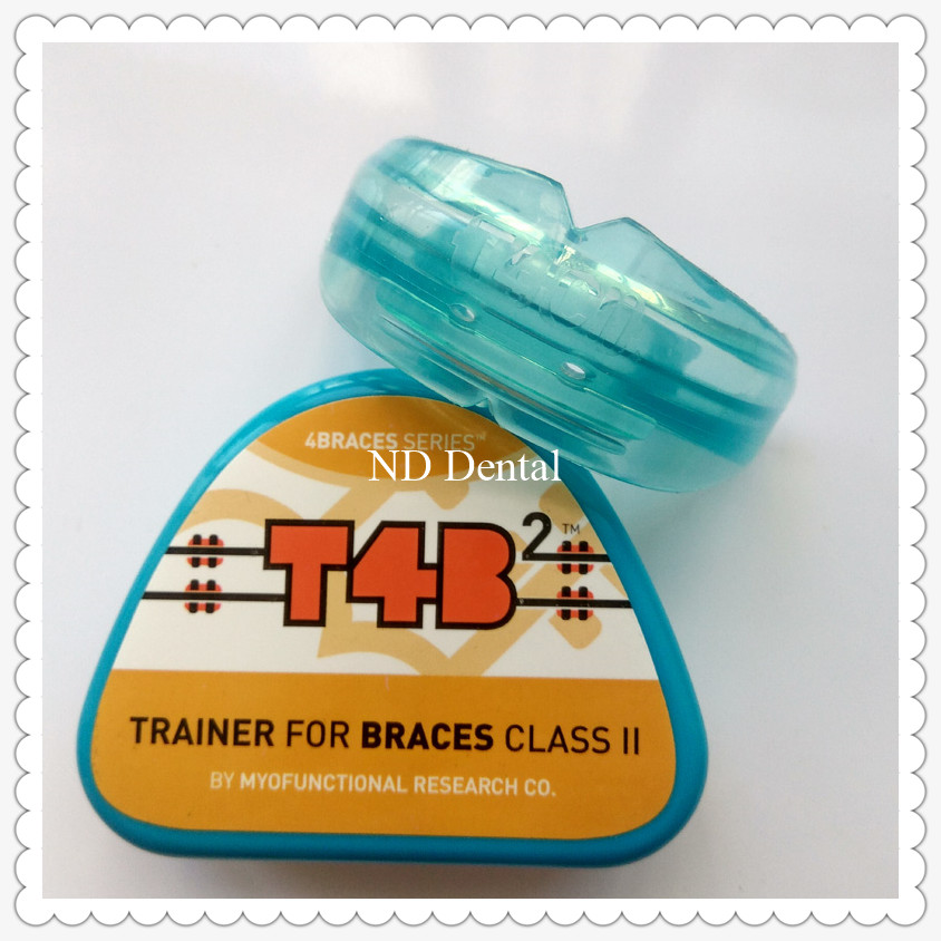 T4B2 DENTAL Orthodontic Brace/MRC Orthodontic Trainer appliance before and during brace/T4Bteeth trainer for class II correction myofunctional infant trainer phase ii hard oringal made in australia infant primary dentition trainer girls