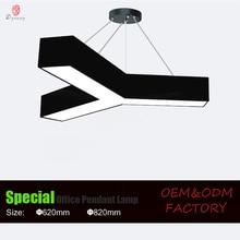 Creative Design Hanging Lights LED Aluminum Modern Ceiling Light DIY Decorative Pattern Shop Fitness Club Lighting Fixture