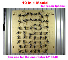 Новейший Iphone IC маршрутизатор 10 в 1 мобильные формы и мобильных джиг для удаления ic IP4, IP5, IP6, IP6 Plus