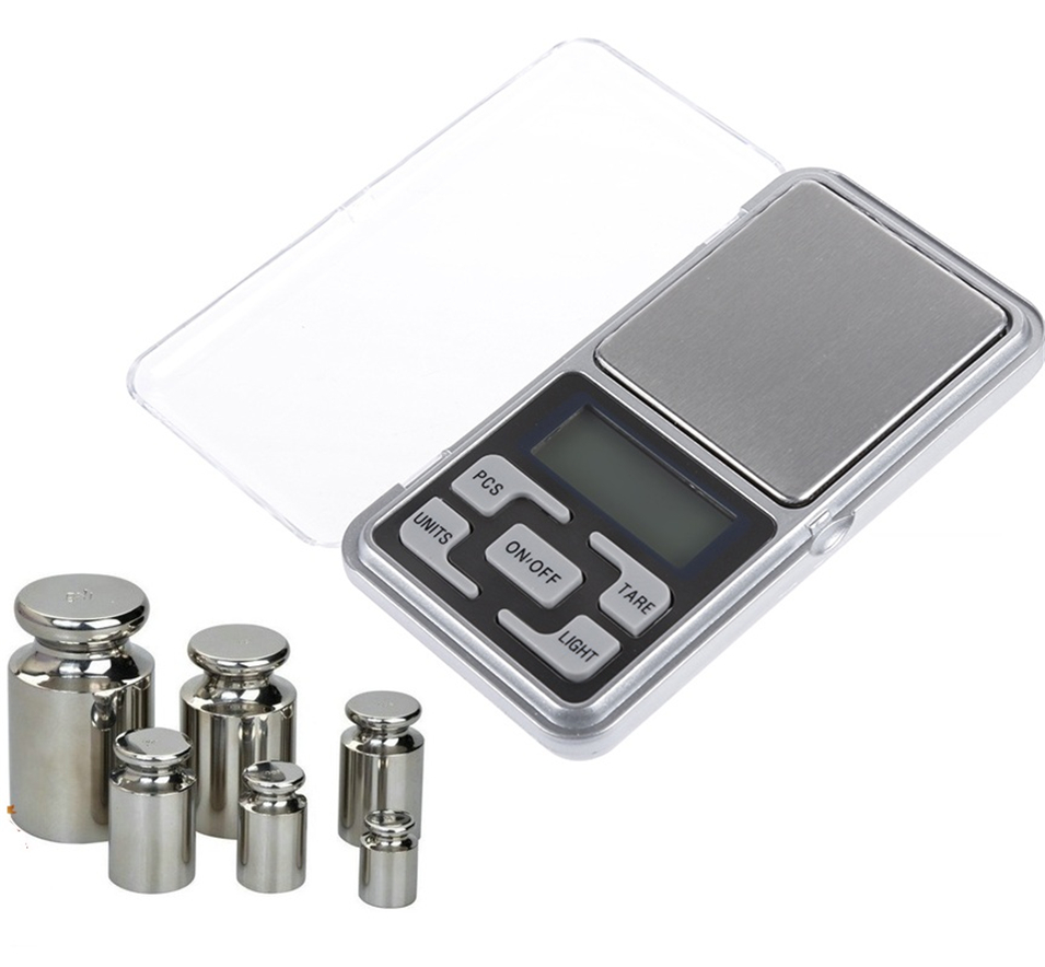 200g/300g/500g X 0.01g Mini Pocket Digital Scale For Gold Sterling Silver Jewelry Scales Balance Gram Electronic Scales