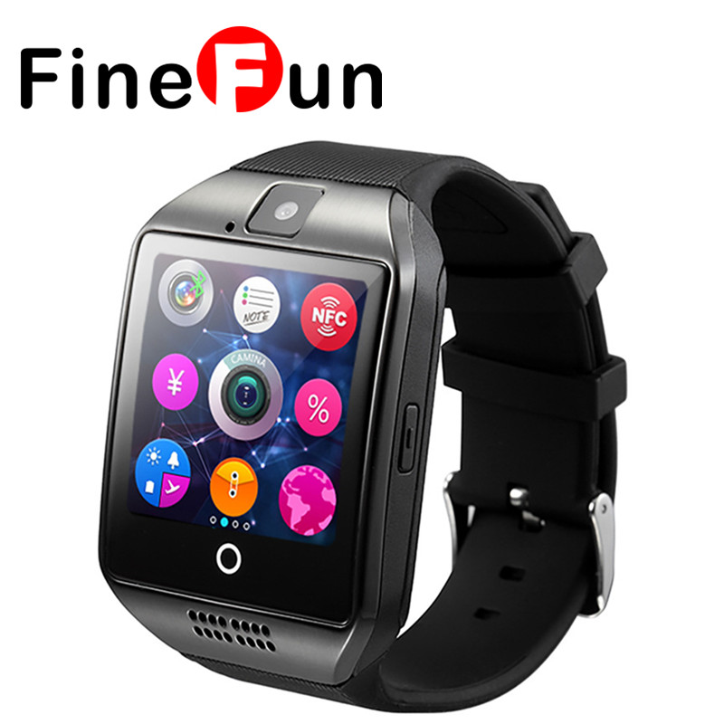 Original A1 Smart Watch Passometer Wristwatch With Touch Screen Camera Support Sim Card Music Bluetooth Smartwatch For Android Ios Phone Smart Electronics Consumer Electronics