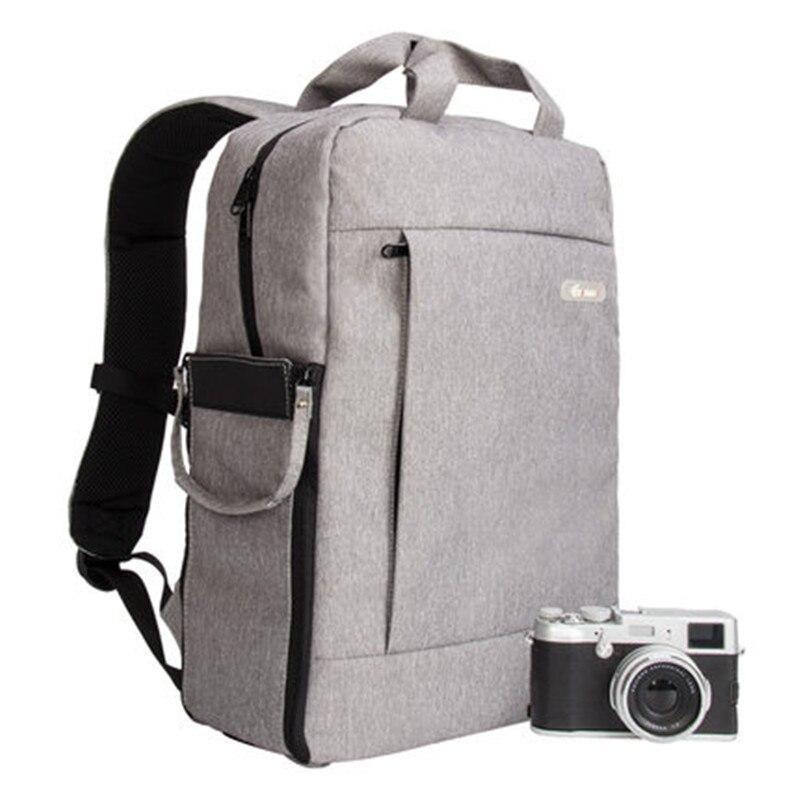 EIRMAI DQ310B sac à dos sac à dos DSLR appareil photo reflex sac pour Nikon CANON SONY FUJI PENTAX OLYMPUS LEICA Orange