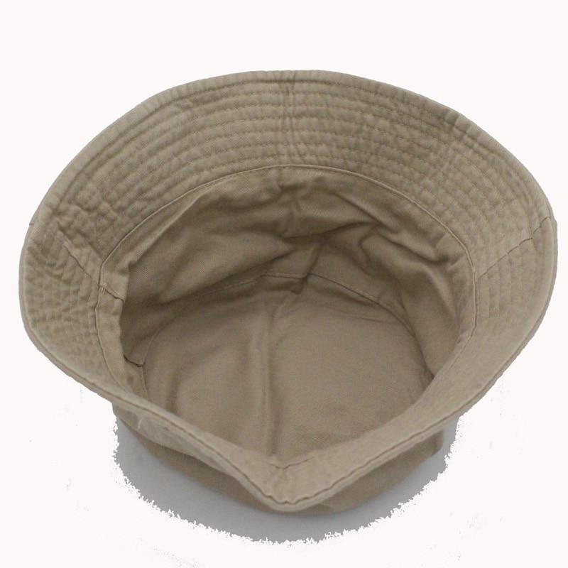 2016 Moda Cottonblend traper Unisex kapa vedro šešir ljeto otvoreni - Pribor za odjeću - Foto 4