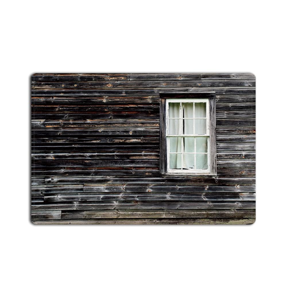 Rustique ancienne grange en bois fenêtre maison salon paillasson cuisine tapis les escaliers étage zone