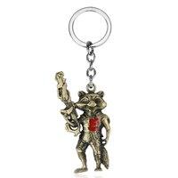 Guardians Of The Galaxy Rocket Raccoon Keychain (2 Colors)  3