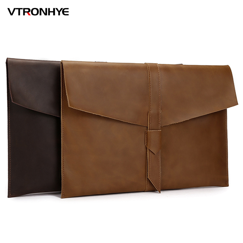 VTRONHYE 11 12 13 15 Laptop Sleeve Pouch Bag for Macbook Air 13 Case Retina 13 15 Notebook Computer Bag for Macbook Pro 13 2016
