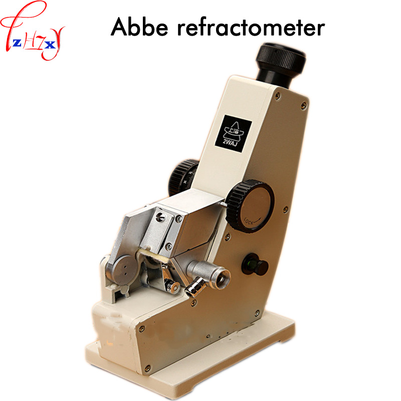 где купить Abbe refractometer 2WAJ monochromatic refractometer digital brix refractometer Laboratory optical equipment 1pc дешево