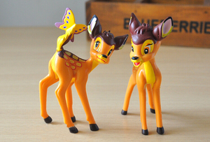 Image 4 - 7 шт./лот Классические игрушки из ПВХ в виде животных, модели оленя, куклы, фигурки героев фильма, игрушки, игрушки для детей