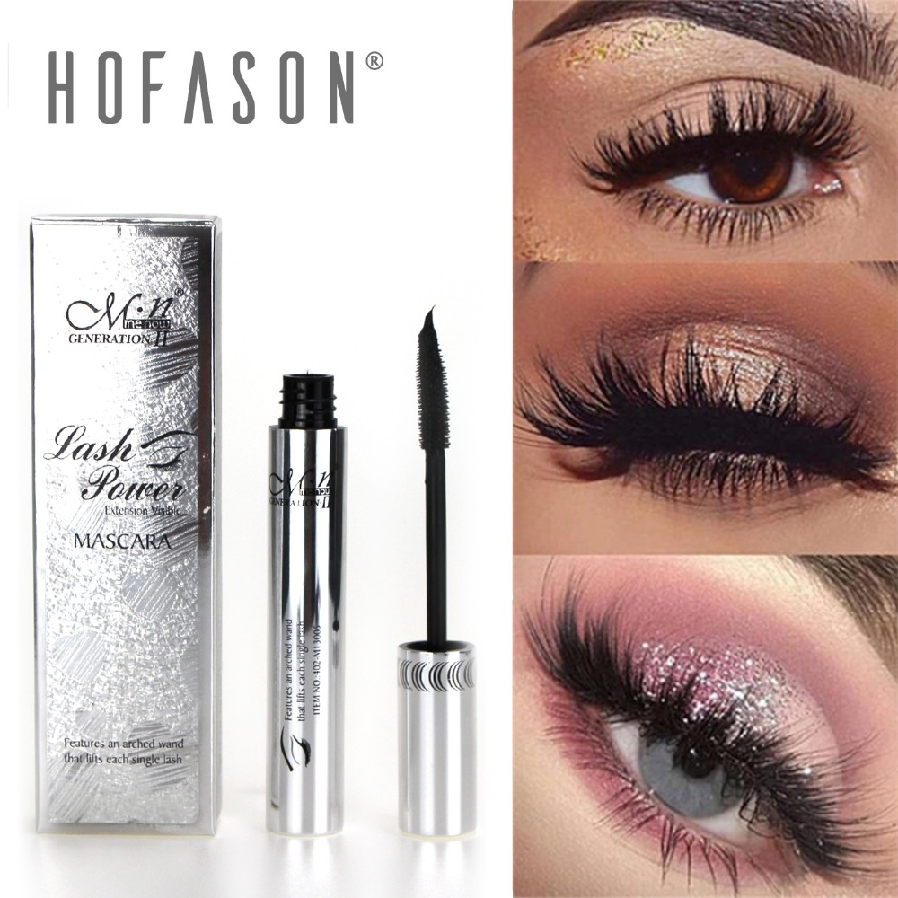 4D Silk Fiber Lash Mascara Waterproof Rimel 3d Mascara For Eyelash Extension Black Thick Lengthening Eye Lashes Cosmetics 029