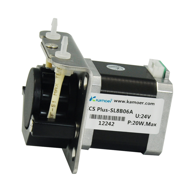 Kamoer 12V/24V KCS PLUS peristaltic pump electric water pump driven by stepper motor батарея аккумуляторная pitatel tsb 041 mak18b 30l
