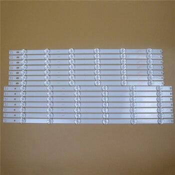 TV LED Light Bars For LG 55LN6138 55LN613S 55LN613V -ZB Backlight Strips L R Kit 12 LED Lamps Lens 14 Bands Pola2.0 55 inch
