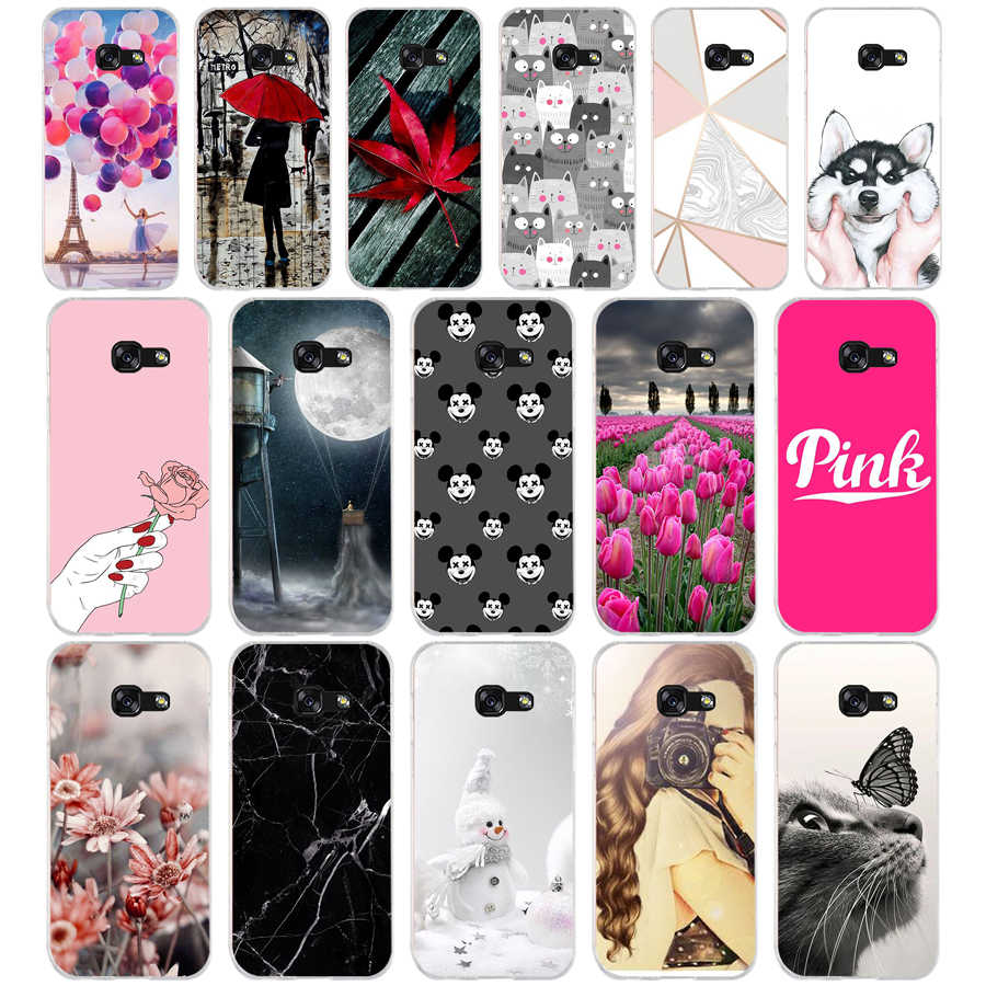 G For Samsung A5 2017 Case Soft Silicone Phone Case for Samsung Galaxy A5 2017 SM-A520F Cover Fundas for Samsung Galaxy A5 2017