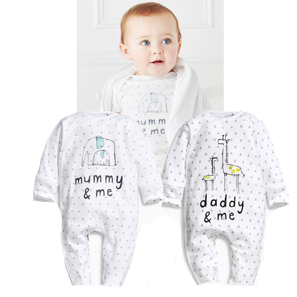 Newborn Baby Rompers Cartoon Pattern Printed Cotton Jumpsuits Long-sleeve Infant Costumes Baby Boy Baby Girl Clothes 2016 autumn newborn baby rompers fashion cotton infant jumpsuit long sleeve girl boys rompers costumes baby clothes