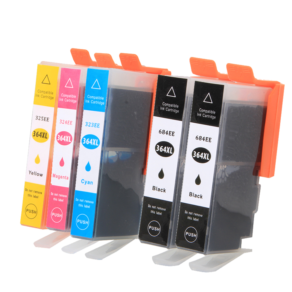 5pk cartridge 364xl for hp 364 xl ink for photosmart. Black Bedroom Furniture Sets. Home Design Ideas