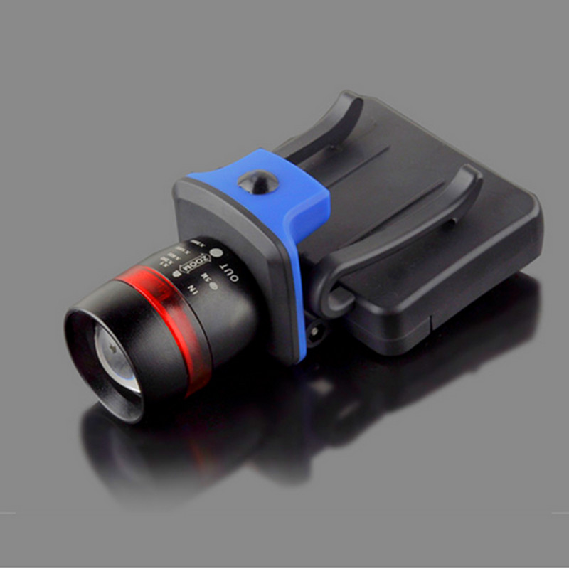 Waterproof Strong 2000Lumen CREE XPE LED Rechargeable Lamps Headlight Riding Headlamp Flashlight Cap Hat Head Lamp Light M1800