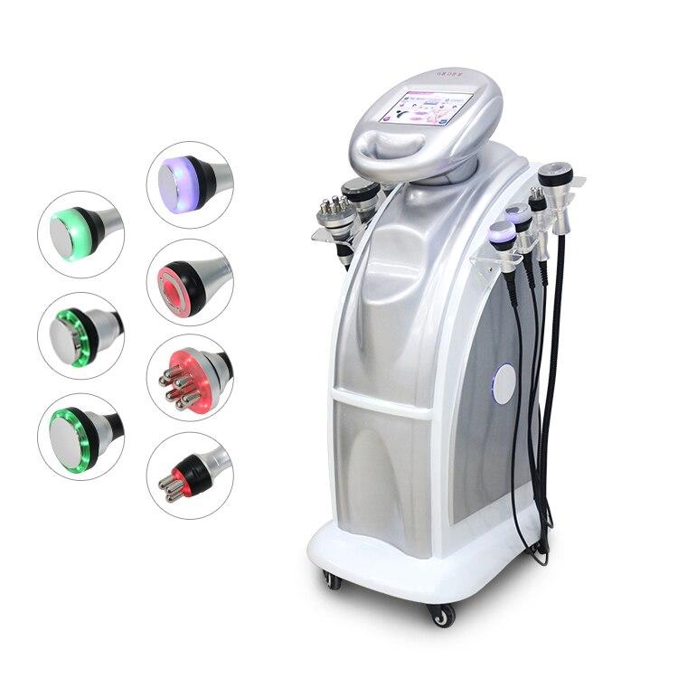 Wysoka jakość!!! Zimna liposukcja ultradźwiękowe rzeźbienie ciała odchudzanie próżniowe RF skóra firma podnoszenie ciała czerwony zielony photon maszyna CE