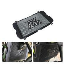 цена на Motorcycle Accessories Radiator Grille Cover Guard for Kawasaki Z900 Z 900 2017 2018 2019 Motorcycle radiator guard