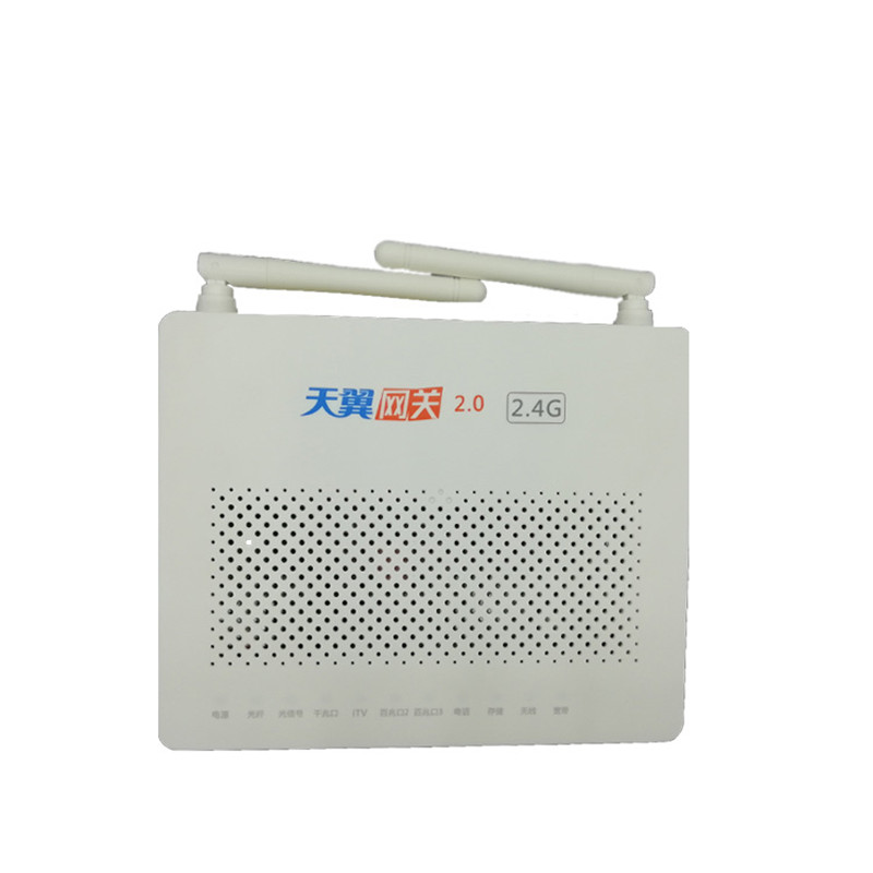 Communication Equipments 5pcs New Original Onu Ont Termianl Epon Hg8347r Hs8145c Port 1ge+3fe+tel+wifi English Version Compatible With Hua Wei Olt