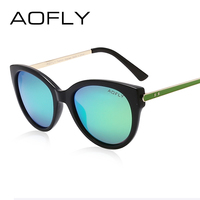 AOFLY Brand Cat Eye Polarized Sunglasses Ladies Designer Women Sunglasses Vintage Sun Glasses Female Summer Outdoor