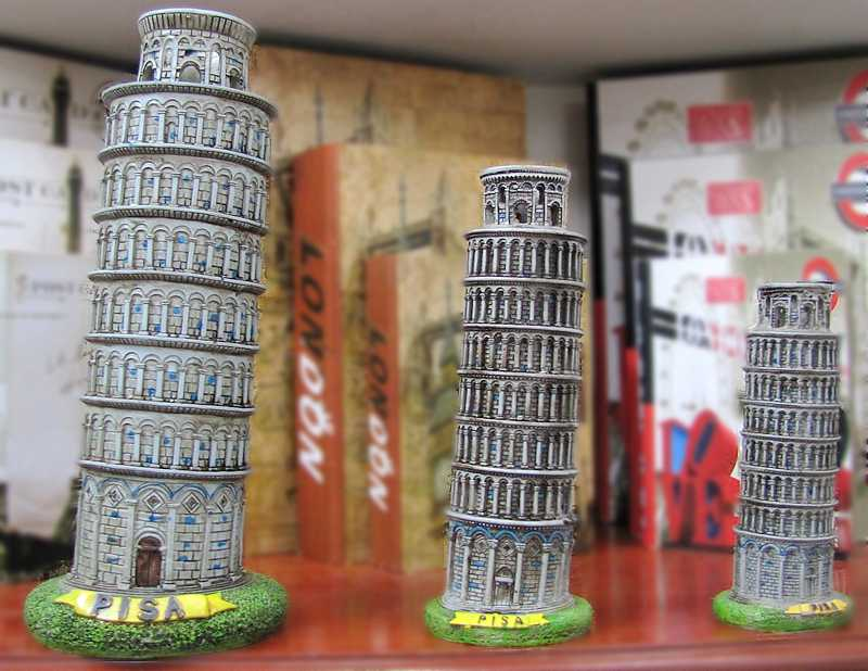 يدوية الصنع الراتنج الحرف إيطاليا برج بيزا بيزا بناء نموذج المنزل مكتب الحلي الإبداعية هدايا 3 حجم