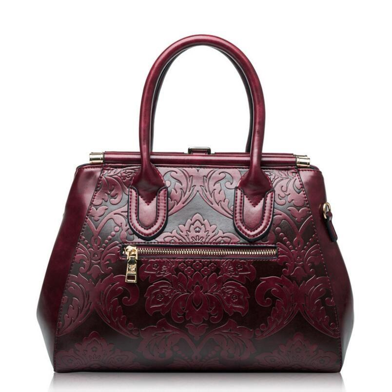 FoxTail & Lily Chinese Style Vintage Çiyin Çantaları Qadın Əsl - Çantalar - Fotoqrafiya 4