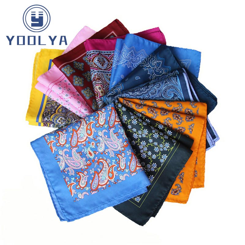 HOT!!! High Quality 34x 34CM Man Paisley Floral Polka Dot Pocket Square Hankies Chest Towel For Men's Suit Big Size Handkerchief