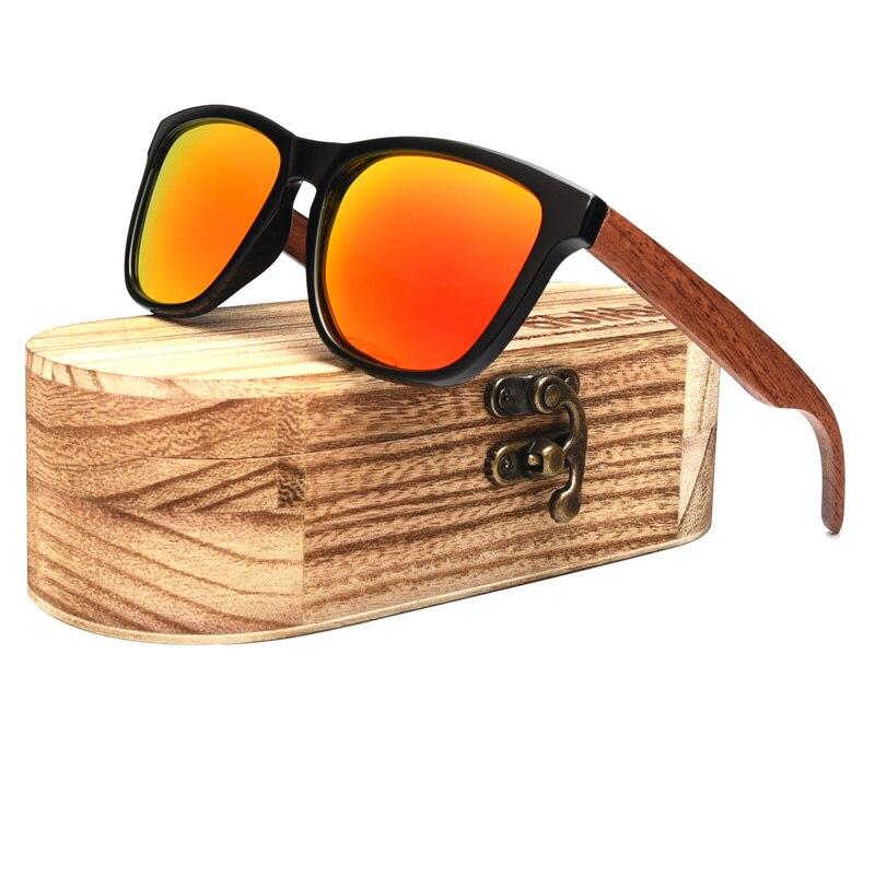 196cde0cb23978 Ablibi Mode hout Houten Zonnebril voor Heren Gepolariseerde UV Beschermen  Zonnebril Voor Wandelen Fietsen Beach Party in Ablibi Mode hout Houten  Zonnebril ...