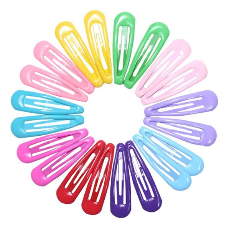 20 шт. 5 см заколки для волос для заколки для волос BB заколки для волос цветные металлические заколки для маленьких детей для девочек аксессуары для укладки