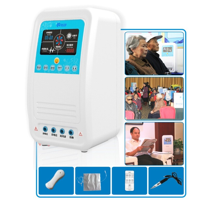 Portable High Potential Therapeutic Equipment Static Electric Therapy Apparatus hot sale safety home use electric potential therapeutic instrument beauty