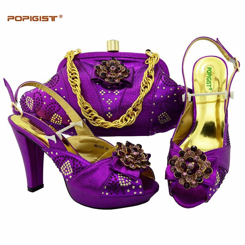 Naranja Africano Con Mujer Zapatos wine silver Conjunto Italiano Bolsa Juego orange A green De Tacones Cm Y Nigeria purple La blue 11 Champagne Bolso rIt7vrq