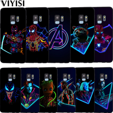 Luxury Marvel Avengers Heroes Deadpool Case Etui For Samsung Galaxy s9 case S6 S7 S8 S10 Lite J3 J5 J7 2017 J4 J6 J8 Plus Coque