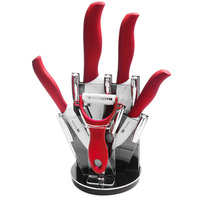 Best Gift ABS TPR Handle Ceramic Knife Set 3 Inch 4 Inch 5 Inch 6 Inch