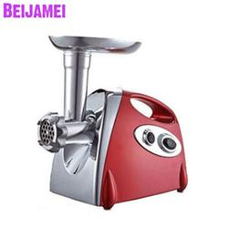 Beijamei High Efficiency Electric Meat Grinder Mincer Sausage Maker Machine Small Meat Grinding Machine For Meat Processing