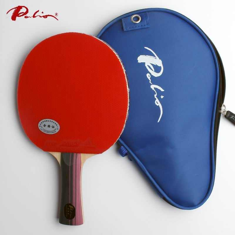 Palio official three stars finished racket pimples in for both rubber fast attack with loop ping pong game racquet game