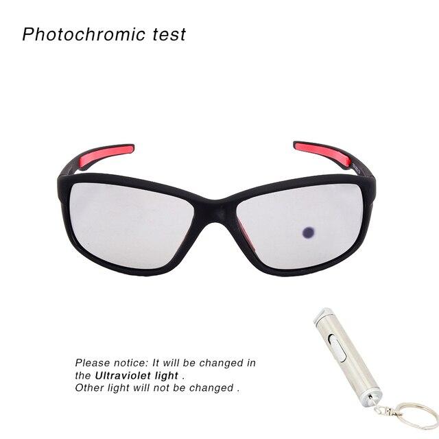 Óculos polarizados unissex para ciclismo, óculos de sol fotocromático para mountain bike, óculos de corrida para homens e mulheres 2