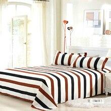Простыня с цветочным принтом, простыня из полиэстера, простыня с плоским покрытием, односпальная двуспальная кровать, Современная простыня для близнецов, покрывало для кровати, 9 узоров
