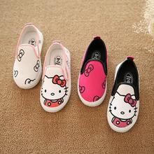Children Casual canvas Shoes Hello Kitty AB sneakers boys sneakers girls sport shoes sapato infantil menina Zapatillas