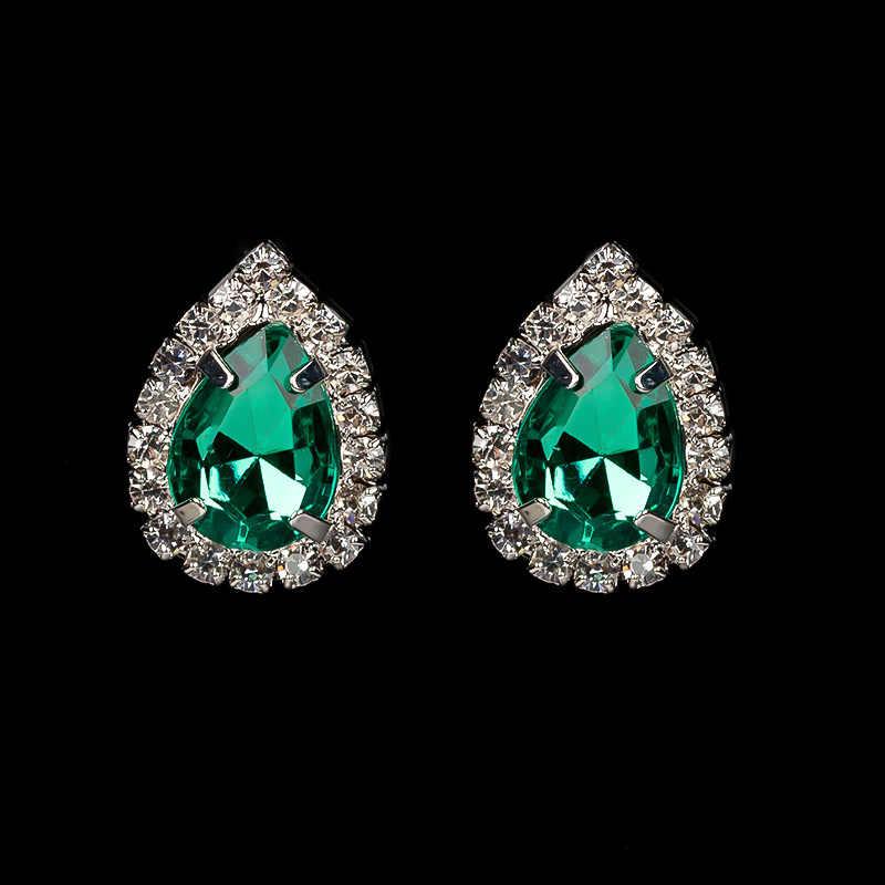 YFJEWE mode bref collier bijoux de mariée accessoires robe formelle cheongsam chaîne collier boucles d'oreilles ensembles 2 couleur # N168