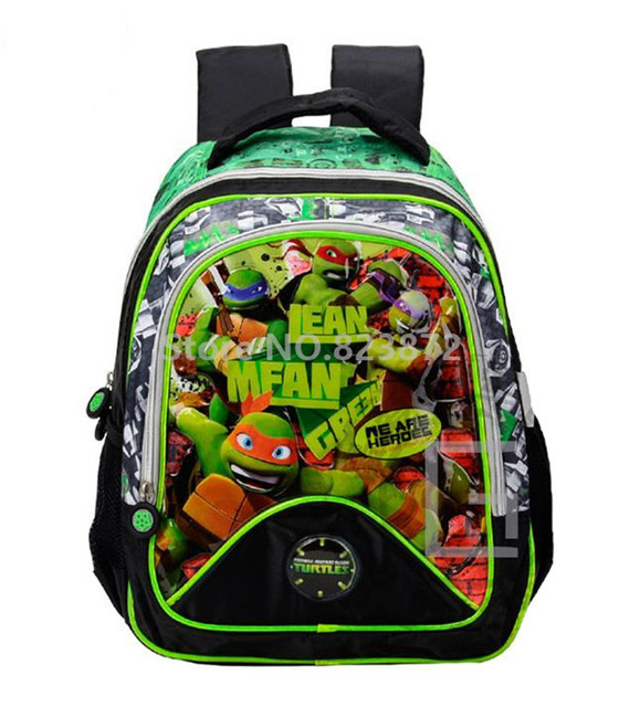 4ecc68ff2f Teenage Mutant Ninja Turtles Children School Bags Kindergarten Preschool  Backpacks for Boys School Backpacks Kids Bag Schoolbag