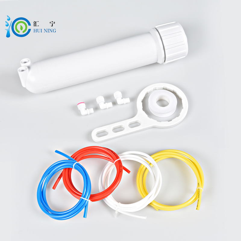 "Free Shipping 10 inche Reverse <font><b>Osmosis</b></font> Membrane Housing 50/75/100 GPD Replacement 1/8"" In/Out RO/Aquarium Quick-Connect Fittings"