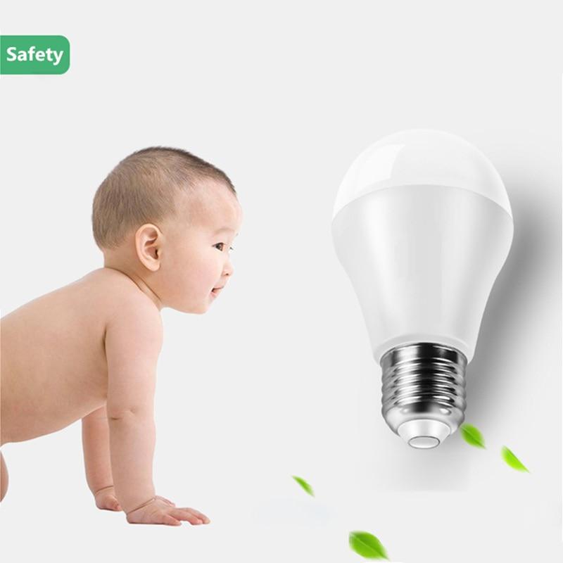 Chiclits E27 Led Lamp Led Bulb Ac 220v 230v 15w 12w 9w 7w 5w 3w Lampada Led Spotlights Table Light Energy Saving Lamp A60 Bulbs 2019 Official Light Bulbs