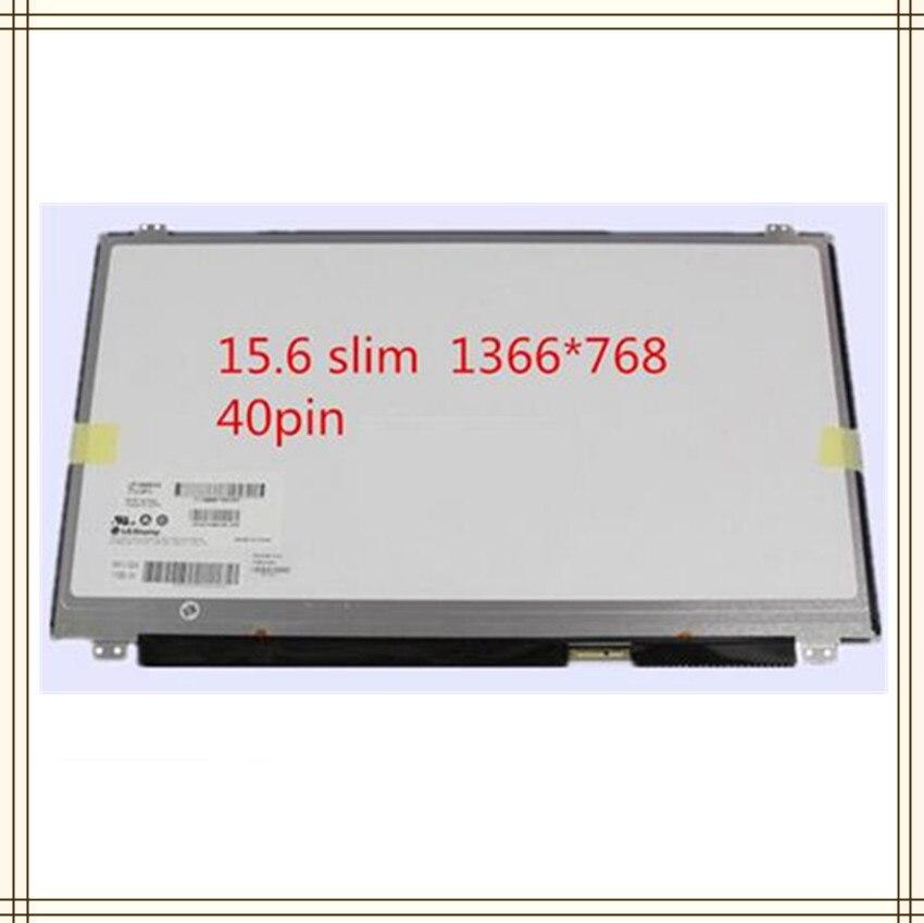 """15.6"""" Slim matrix screen For ASUS X555L SERIES X555LA X555LF X555LI X555LN LED LCD Display Schermo Screen 40 pin 1366*768(China)"""