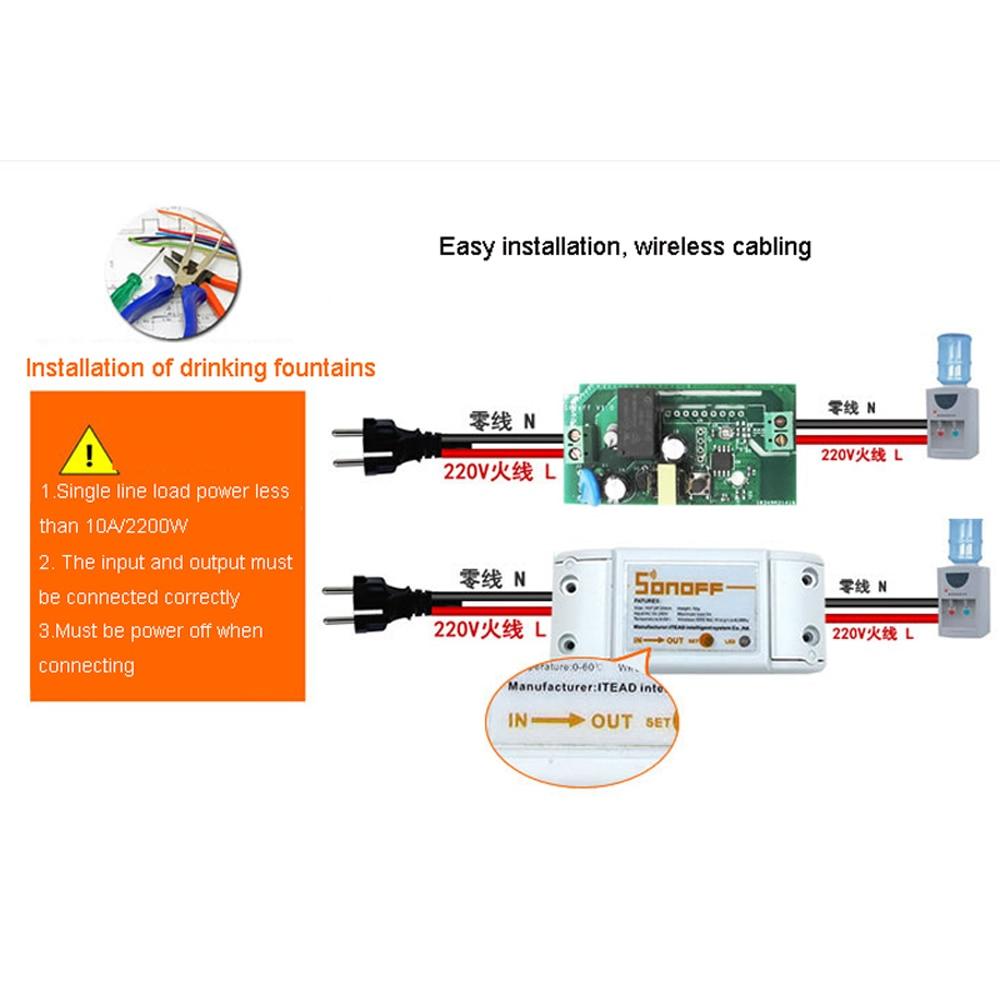 Smart Home Wireless Remote Control Wifi Switch Intelligent Timer