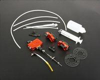 Front Wheel Hydraulic Disc Brake Set for 1/5 HPI KM Rovan Baja 5B 5T 5SC RC Car Upgrade Parts